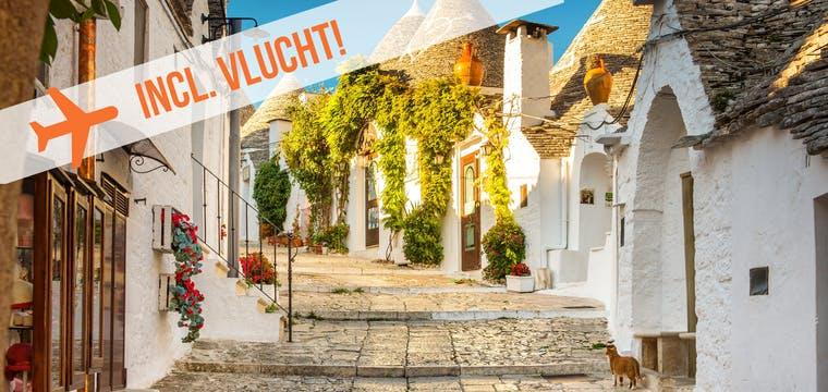 Dagaanbieding – Fly & drive Puglia