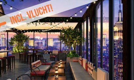 Dagaanbieding – Trendy hotel in Manhattan