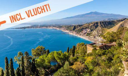 Dagaanbieding – Fly & drive Sicilië