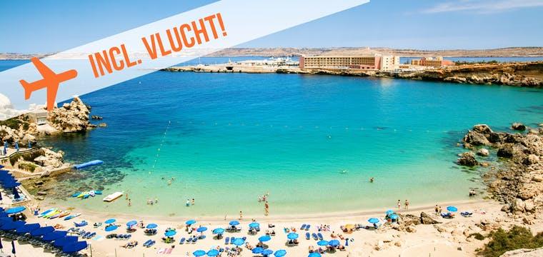 Dagaanbieding – Aan de kust op Malta